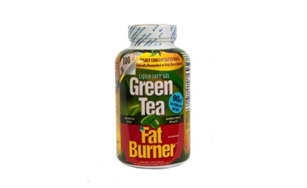 Applied Nutrition Green Tea Fat Burner, 90 Liquid Soft-Gels