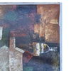 """Oil Painting on Canvas 36"""" x 48"""" Decorative Rustic Abstract Design"""