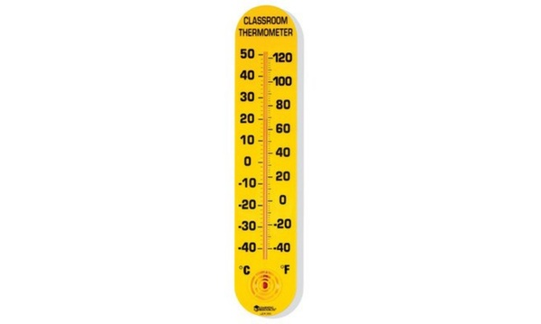 Learning Resources LER0380 Classroom Thermometer