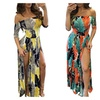 Womens Sexy Floral Slit Club Overlay Short Dressy Jumpsuit Romper