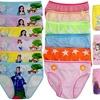 (6 Pack) Girls' Cotton Bikini Panty Underwear