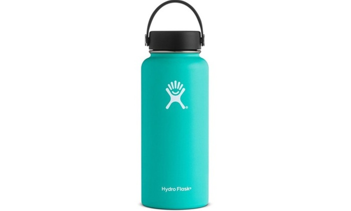366358b0ab Hydro Flask Wide Mouth Stainless Steel 32oz Water Bottle with Flex Cap