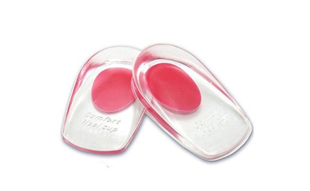 Heel Pain Inserts Silicone Gel Insole Pads Heel Cups 8d462251-d74c-4676-81bf-49ca8abbbd46
