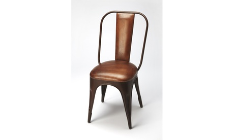 Butler Riggins Iron & Leather Side Chair ad26e15f-6820-4a53-a4f4-d1f2511925ea