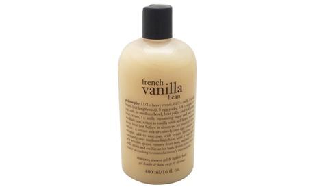 Philosophy French Vanilla Bean Ice Cream Shampoo Shower Gel & Bubble Bath 0e52e4b5-0930-4a91-adc8-f81db1aa8ebe