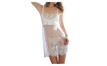 Women Lace Mesh Babydoll Sleepwear Lingerie - KMWL987 b2ceb711-40e2-4510-ad9c-2c7c342bedc1