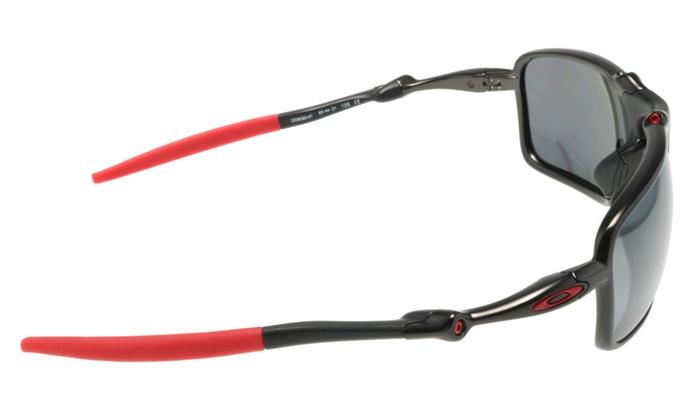 39b392c735 Oakley BADMAN Sunglasses OO6020-07 Carbon w  Black Iridium Polarized ...