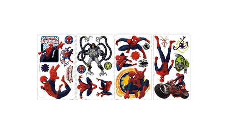 Roommates Decor Ultimate Spider-Man Wall Decals 4b67415e-efce-4152-b3fd-24446e263b74