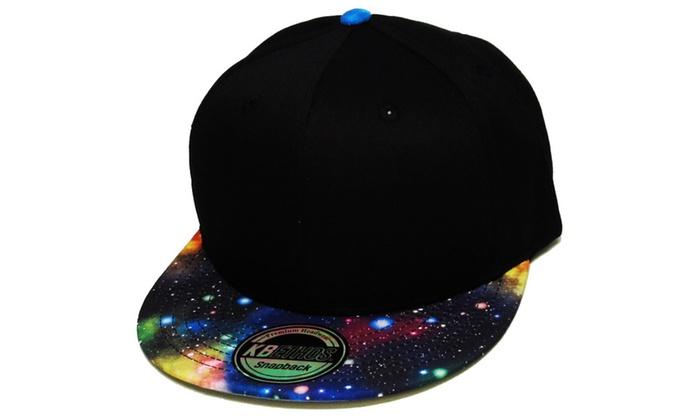 Space Hat Galaxy Snapback Baseball Cap Adjustable Cool Design Dad Hat ... 93a8eca1e92