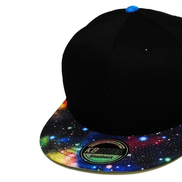 b54589b73ece2 Space Hat Galaxy Snapback Baseball Cap Adjustable Cool Design Dad Hat