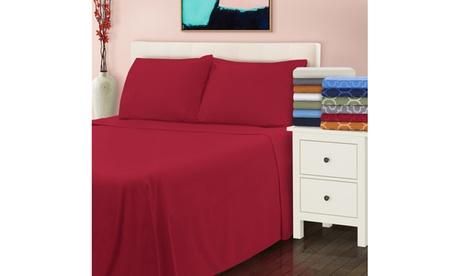 Superior All Season Brushed Cotton Solid Flannel Sheet Set bdd44498-27c0-4e9a-b50b-b22886855365