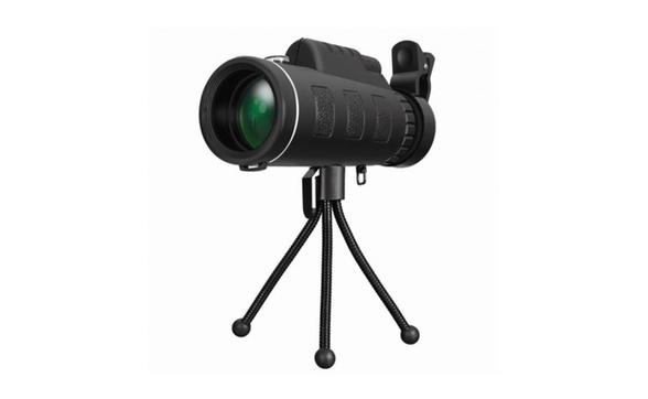Dual focus monocular hd spotting scopes portable optical prism