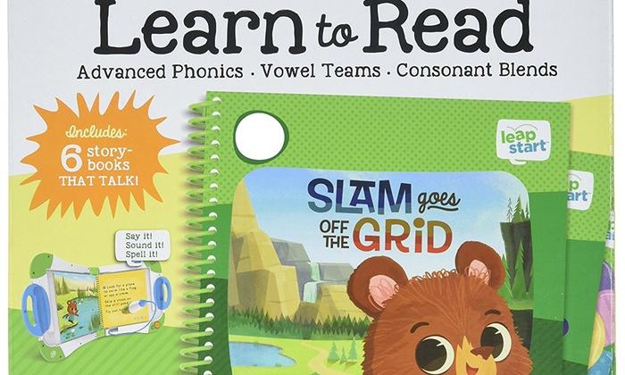 21bb02efd8b72 LeapFrog LeapStart Learn To Read Volume 2 Green New Book Cardboard Plastic