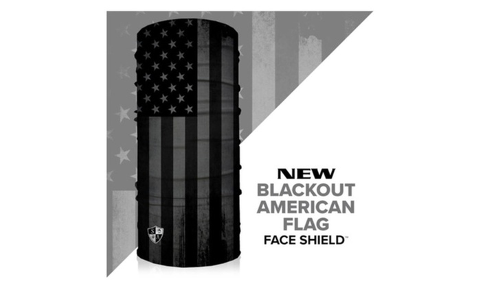 Salt Armour Face Shield Blackout American Flag