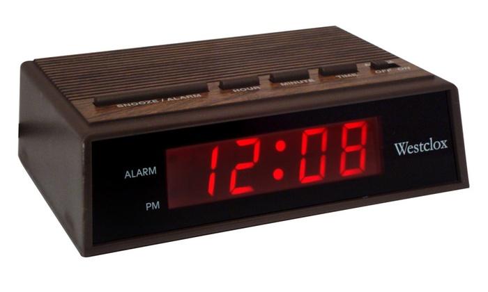 Old School Alarm Clock Groupon