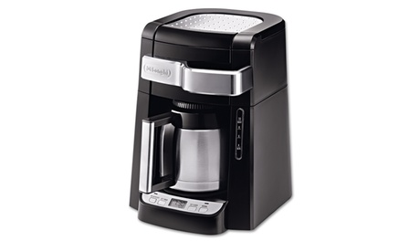 Delonghi 10 Cup Frontal Access Coffee Maker, Black 42fcec7b-b633-4c75-b5cc-049bc37dbf35