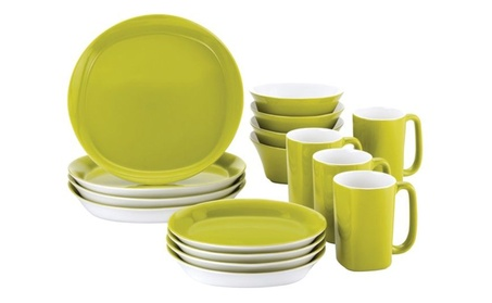 Rachael Ray 16 Pc Round and Square Dinnerware Set fa4beef2-ad28-415c-b6c7-1b6dc6aa9a08