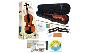 eMedia My Violin Starter Pack for Kids with Interactive Lessons