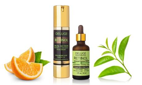 Advanced Antioxidant Retinol Treatment w/ Pure Hyaluronic Acid & Vitamins C & E