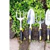 Pure Garden Tool Set with Comfort Grip Handles (4-Piece)