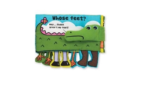 Melissa & Doug Soft Activity Baby Book - Whose Feet? 07270a09-afeb-480e-a7af-dce3e813e675