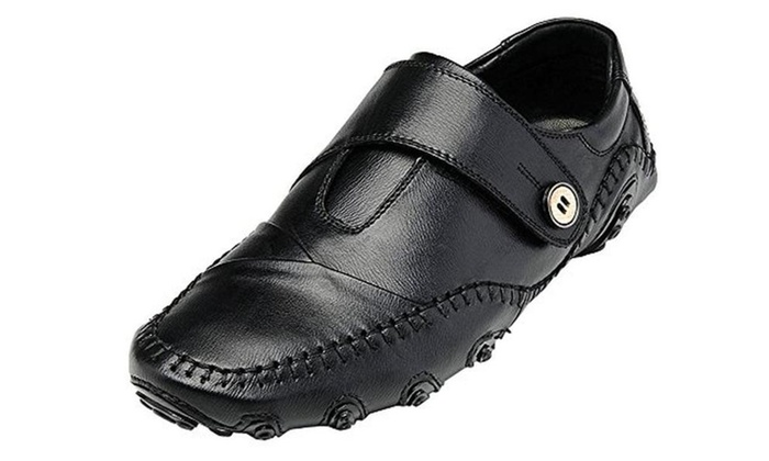 Mohem Men's Octopus Comfort Driving Car Soft Flats Loafers Casual Boat Shoes