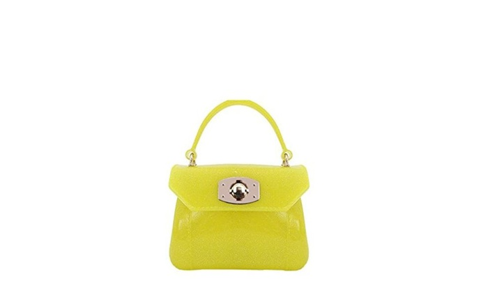 Candy-colored handbag mini package/ crystals bag - C / one size