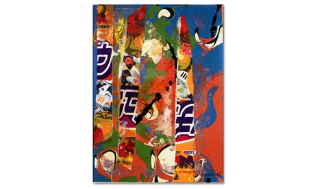Miguel Paredes 'Japan I' Canvas Art 0987a7f8-92da-4dfe-a363-172f34be0cac
