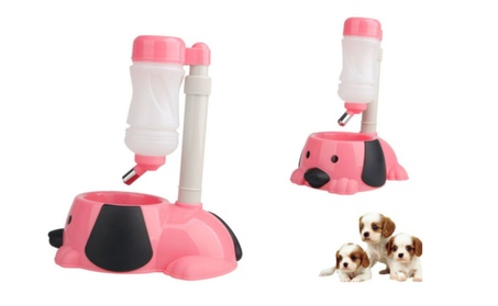 Pet Dog Cat Water Bottle & Pet Water Dispenser Bottle de87ffab-b83f-4682-b0f2-47206cfa69c5