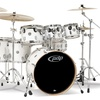 Pacific Concept Maple 7-Pc Shell Pack w/Hardware - Pearlescent White