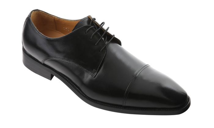 6921262c33 Wizfort Mens Oxford Shoes, Black Lace Up Shoes 770 | Groupon