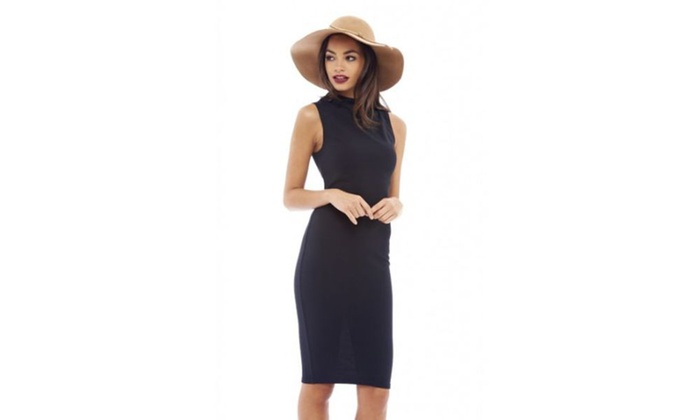 AX Paris Sleeveless Bodycon  Dress