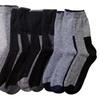 12 Pairs Of Sockbin Mens Thick Winter Thermal Socks Two Tone Marled