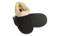 Deals on Seranoma Womens Cable Knit Slipper