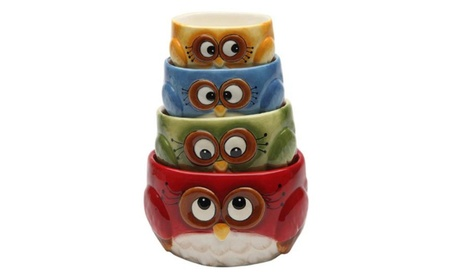Cosmos Gifts 10911 Owl Measuring Cups 391b5df9-6d4c-445a-a3ca-dd4f181158ce