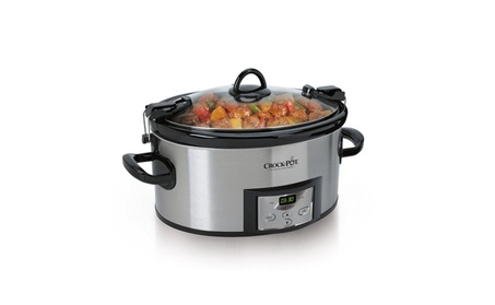 6-Quart Programmable Cook & Carry Slow Cooker with Digital Timer photo
