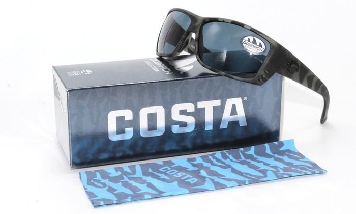 bd37233ae7d Costa Del Mar Ocearch Cat Cay Men Sunglasses Tiger Shark   Gray 580P  Polarized ...