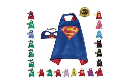 Child Superhero Cape and Mask a046e307-fe26-43b9-b33a-e48753eb7a54