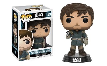 Funko Pop! Vinyl Figure Star Wars Rogue One Captain Cassian Andor #139 fa0f5655-4c9a-47f6-a20a-2e6d223bfd1a