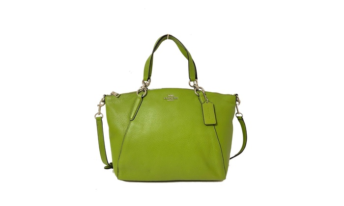 61464d17d51f Up To 40% Off on Coach Women's Pebble Leather ... | Groupon Goods