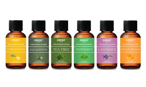Pure Therapeutic-Grade Aromatherapy Essential Oil Set (6- or 16-Piece)