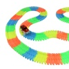 Glowing Racing Set for Kids 223 Piece Set