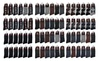 VertiShop: Men's Black Premium Cotton-Blend Dress Socks (24 Pairs)