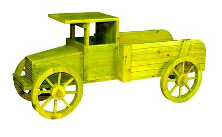 Old Style Wooden Car Garden Planter 97e6e8fd-6b64-4b6a-a1cf-453a4182fbb2