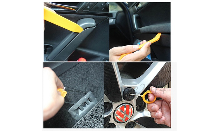 13pc Car Auto Door Dash Audio Radio Panel Trim Install Open Removal Pry Tool Kit