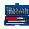 16 Pieces Hobby Knife Set With Deluxe Storage Case