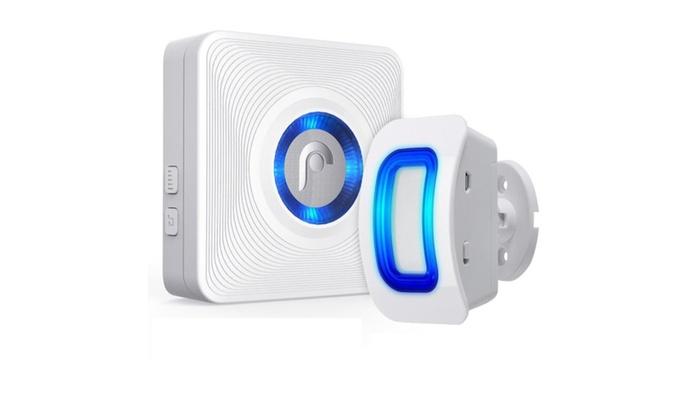 New Fosmon 500ft Home Security Wireless Driveway Alarm Door Bell