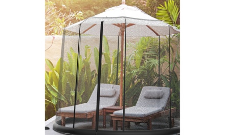 Patio Umbrella Mosquito Net for Tables