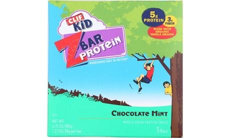 CLIF KID ORGANIC ZBAR PROTEIN BAR, CHOCOLATE MINT ( 6 - 5/1.27OZ )
