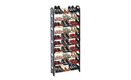 10 Tier Shoe Rack for 50 Pairs 2b440a03-56bf-448f-8f46-61efca3a19bc